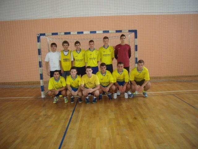 Gradsko prvenstvo srednjih škola u malom nogometu 2012./13.