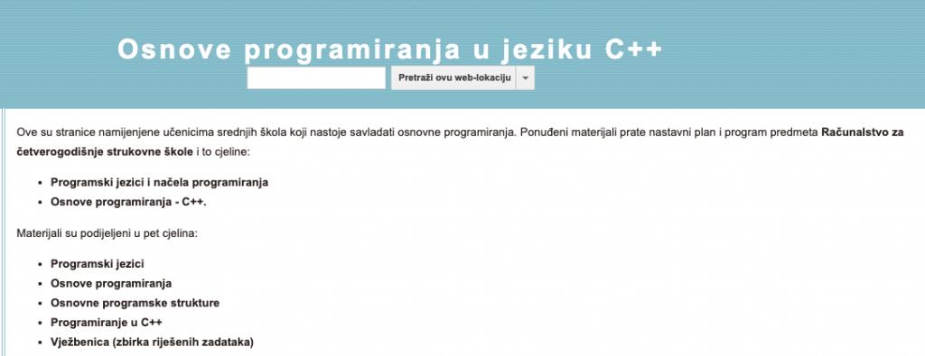 Osnove programiranja