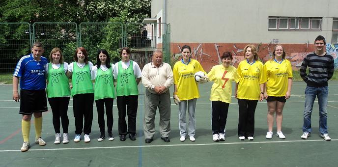 Nogomet - prvenstvo škole 2011