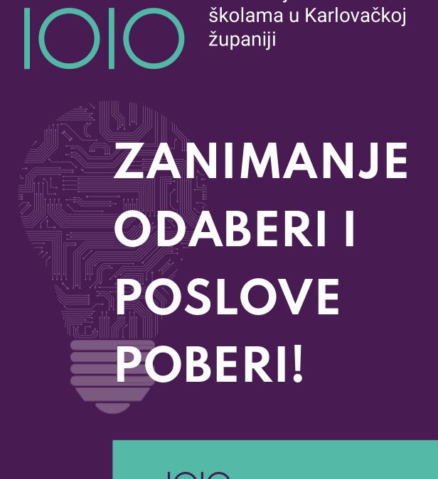Objava o brošuri zanimanja za projekt KaRijERA i JA