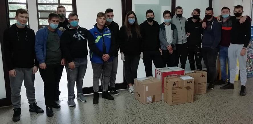 Završila je akcija Hrvatska volontira u kojoj su sudjelovali i učenici naše škole